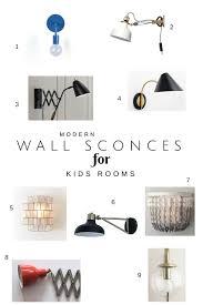 Wall Sconces In Kids Rooms Katrina Blair Interior Design Small Home Style Modern Livingkatrina Blair