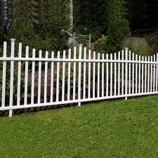 No Dig Vinyl Picket Garden Fence 2 Pack 30in X 58in Unassembled Eventerservice Com