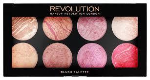 makeup revolution blush palette queen