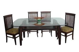 png square dining table teak wood glass