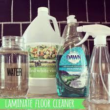 best homemade laminate floor cleaner
