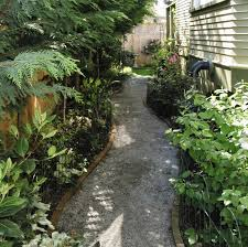 install a gravel path in the garden