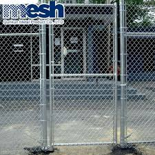 China 4x10 Garden Chain Link Fence Gate Panel China 6x50 Chain Link Fence Chain Link Fence 1 8m