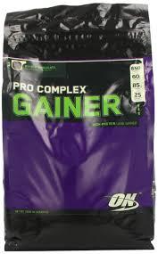 optimum nutrition pro gainer plex