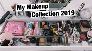 makeup collection and organization 2019