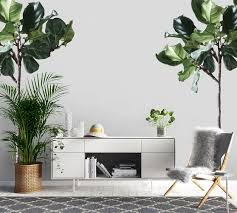 Fiddle Leaf Tree Wall Decal Pottery Barn