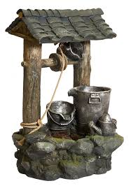 wishing well water feature h100cm x