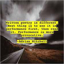 Adrian Mitchell – Quoting Heaven