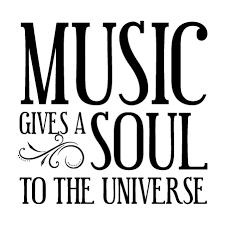 Music Gives Soul Quotes Decal Wallquotes Com