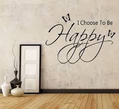 Second Life Marketplace I Choose To Be Happy Wall Decal