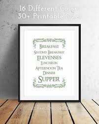 lord of the rings hobbit meals printable instant