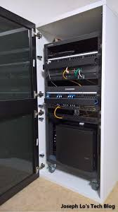 diy server cabinet using ikea parts