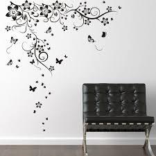 Ebern Designs New Huge Butterfly Vine Wall Decal Reviews Wayfair
