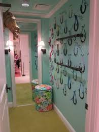 Lilly Pulitzer Dressing Room Horses Horse Room Horse Girls Bedroom Horse Themed Bedrooms