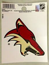 Phoenix Coyotes Nhl Fan Decals For Sale Ebay