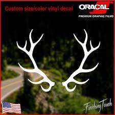 Elk Antlers Deer Hunting Decal In 2020 Hunting Decal Waterproof Stickers Popular Bumper Stickers