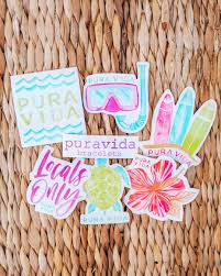Did You Know Every Pura Vida Order Comes With A Free Sticker Pack Which Sticker Is Your Favorite Livefree Purav Fun Stickers Cute Stickers Pura Vida