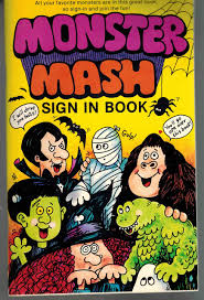Monster Mash Sign in Book: Marino ...
