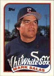 Amazon.com: 1989 Topps Baseball Card #384 Mark Salas: Collectibles ...