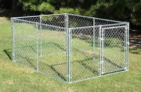 Behlen Country Chainlink Dog Kennel 6 X 8 X 4