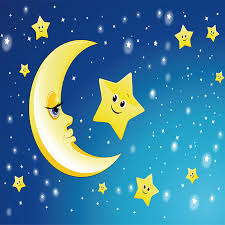 Shop Custom 3d Mural Wall Paper Cute Cartoon Moon And The Stars Photo Wallpaper For Kids Room Bedroom Living Room Home Decor Painting Online From Best Wall Stickers Murals On Jd Com