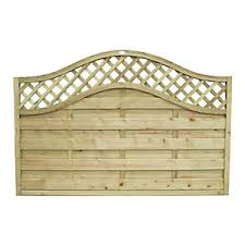 Forest Garden Pressure Treated Bristol Fence Panel 6x4ft Multi Packs Wickes Co Uk