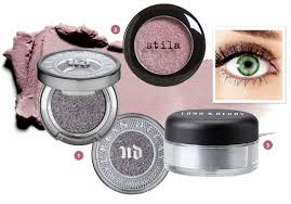 glitter eye makeup for your eye color