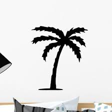 Palm Tree Wall Decal Wallmonkeys Com