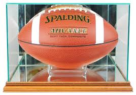 rectangle football display case