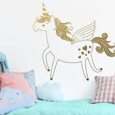 The Best Unicorn Wall Decals That Your Little Girl Would Love Nursery Kid S Room Decor Ideas My Sleepy Monkey