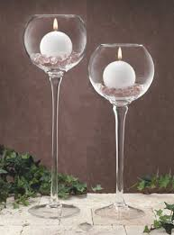 tall glass candle holders uk home