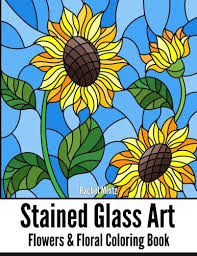 stained glass art flowers fl