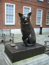 monument to hodge the cat london