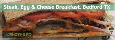 steak egg and cheese flatbread subway