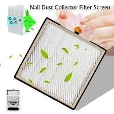 nail dust collector filter net screen