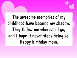 birthday wishes for mom that will make her smile
