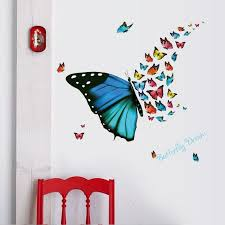 Colorful Flying Butterfly Wall Stickers Butterfly Dream Kids Room Nursery Wall Decals Living Room Window Glass Decor Wall Graphic Poster Wall Removable Stickers Wall Saying Decals From Magicforwall 3 01 Dhgate Com