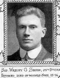 Wesley George Shier - The Canadian Virtual War Memorial - Veterans Affairs  Canada