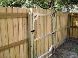 Wood Fence Cypress Cedar Pressure Treated Pine Fence Tampa Fl