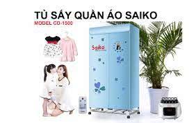 Máy sấy quần áo diệt khuẩn Saiko CD-1000 giá rẻ tại sonhung.vn