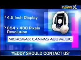 NewsX Tech and You: Micromax Canvas A88 ...