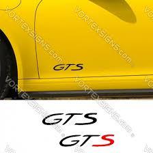 Sale Gts Decals Stickers Online For Lower Door Panel