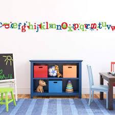 Alphabet Letter Wall Decals Kids Wall Sticker Db176 Designedbeginnings
