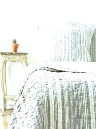 ticking stripe bedding