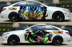 Dragon Ball Super Broly Anime Car Door Vinyl Graphics Decal Sticker Fit Any Car Ebay