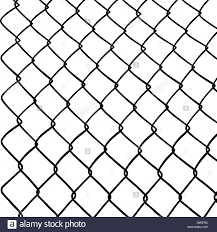 Chainlink Fence Stock Vector Image Art Alamy