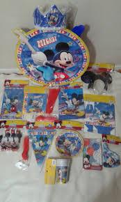 Pack De Cumpleanos Mickey Rockero Para 6 Ninos Cumpleanosjt