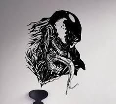 Venom Wall Decal Spider Man Vinyl Sticker Marvel Comics Unique Art Decor 60 Nse Ebay