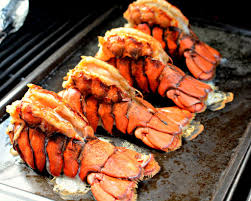 Grilled Lobster Tails - The Cookin Chicks