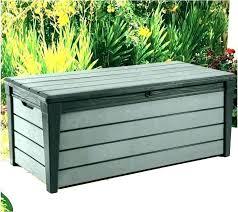 outdoor storage chest home depot deck